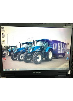 Panasonic CF52 laptop installed New Holland Electronic Service Tools CNH EST 8.9 Engineering level