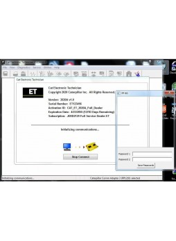 Caterpillar ET 2020A Electronic Technician Diagnostic Software[01/2020]+1 LICENSE