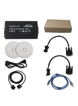 Linde Canbox and Doctor Diagnostic Cable 2 in 1 diagnostic tool