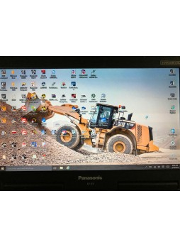 2018 year Panasonic CF53 laptop installed Heavy Duty Diagnostic software package
