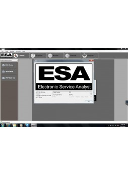 new version version for Paccar Electronic Service Analyst ESA 5.0.0.411 software+SW flash files 2017.08